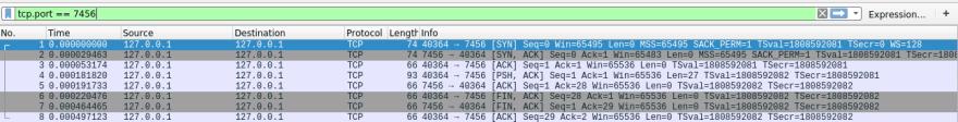TCP filter Wireshark