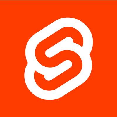 Svelte logo from Twitter