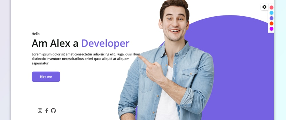 Cover image for How to create a GoDaddy Responsive Portfolio Website with HTML, CSS & JAVASCRIPT