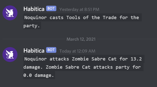 Discord chat preview