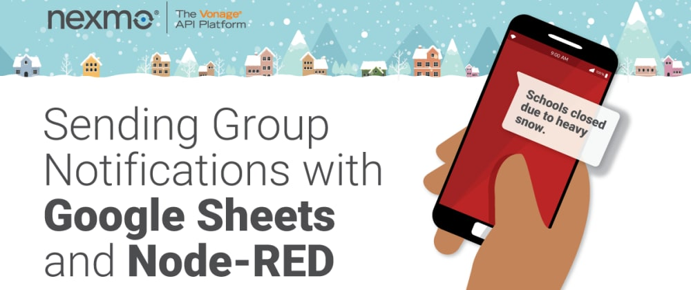 Cover image for Sending Group Notifications with Google Sheets and Node-RED