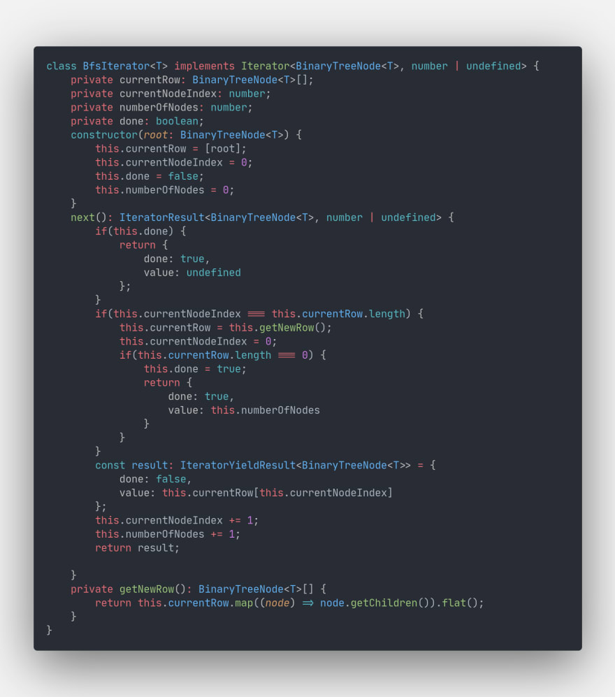 Bfs Iterator