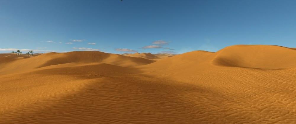 Cover image for Rendering dunes terrain in WebGL