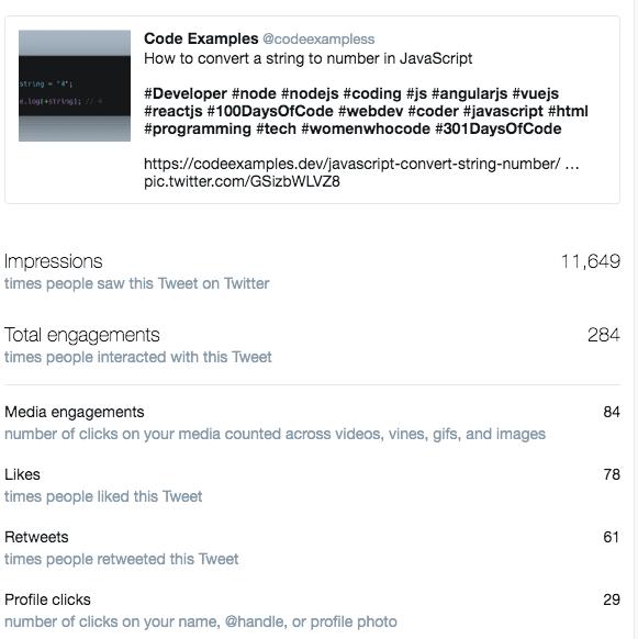 codeexamples.dev twitter account