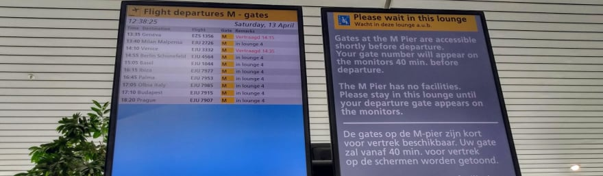 Flight information display