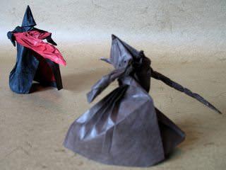origami wizard's duel