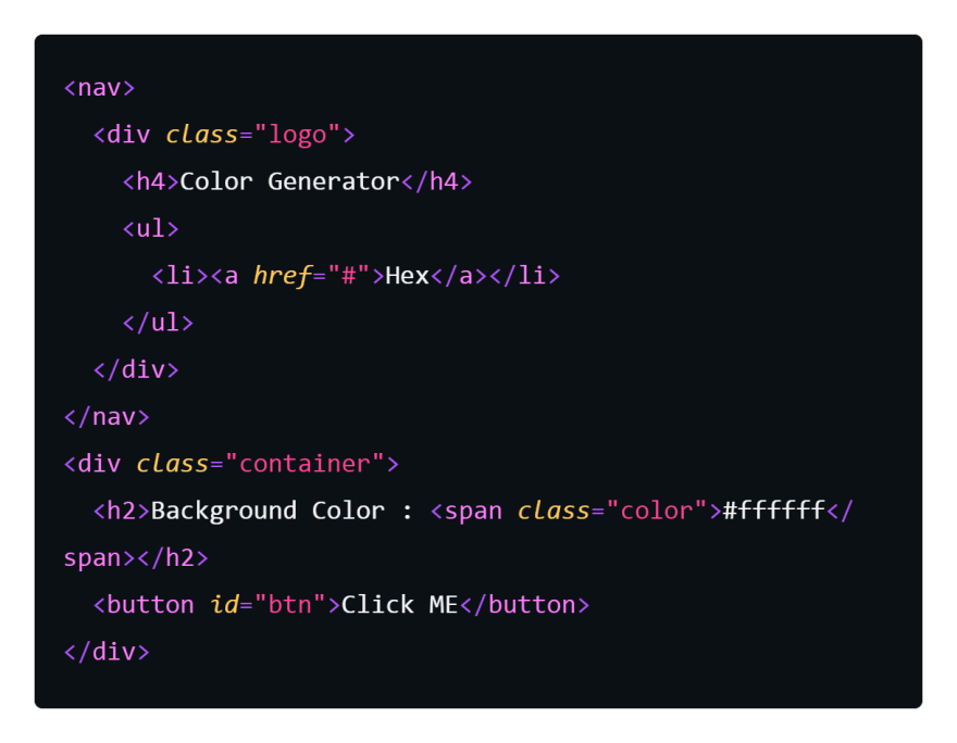 HTML Snippets