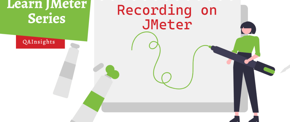 Cover image for Recording on JMeter