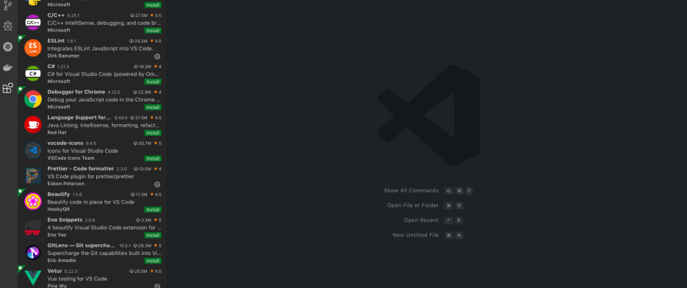 Cover image for 10 Visual Studio Code Extensions for Frontend Developers in 2020