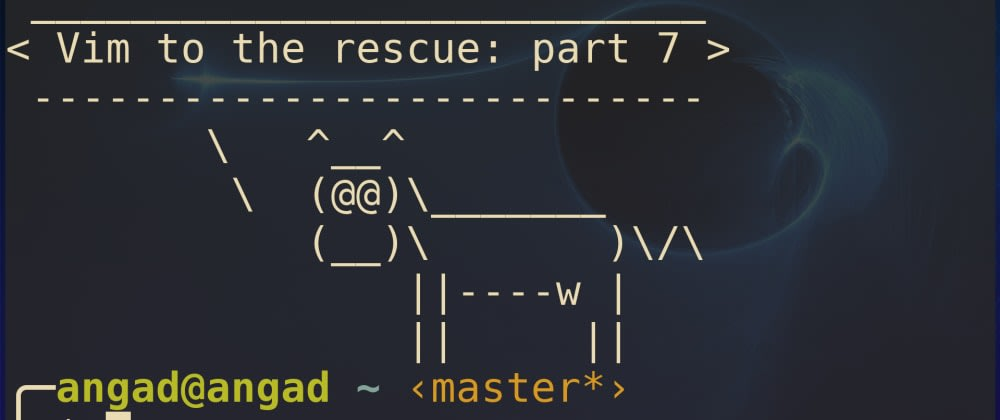 Vim to the rescue: Subduing the Shell