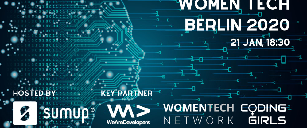 Cover image for WomenTech Berlin 2020 on January 21st!