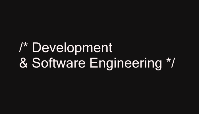 Development/Software Engineering Books
