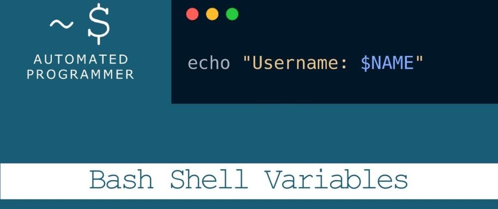 Cover image for Bash Scripting: Variables & String Manipulation