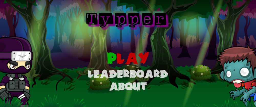 Cover image for [Typper v1.0.0] Can you type your way to the top? 🎮🏆