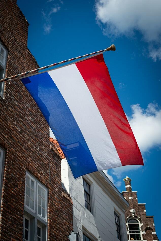 Image of a Dutch flag