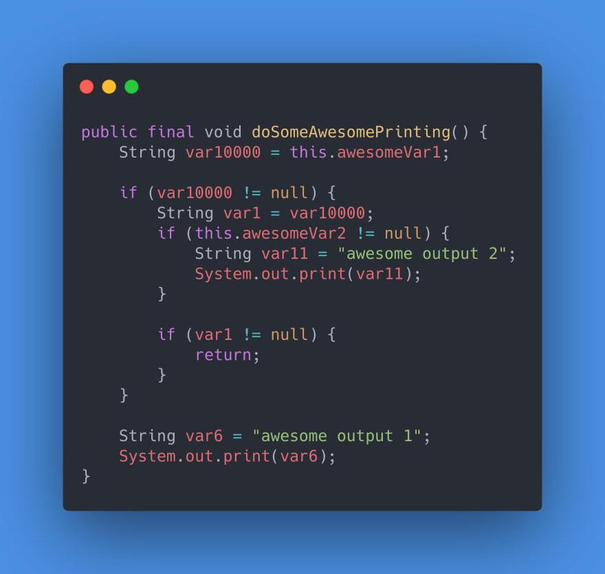 Example 3 - Java