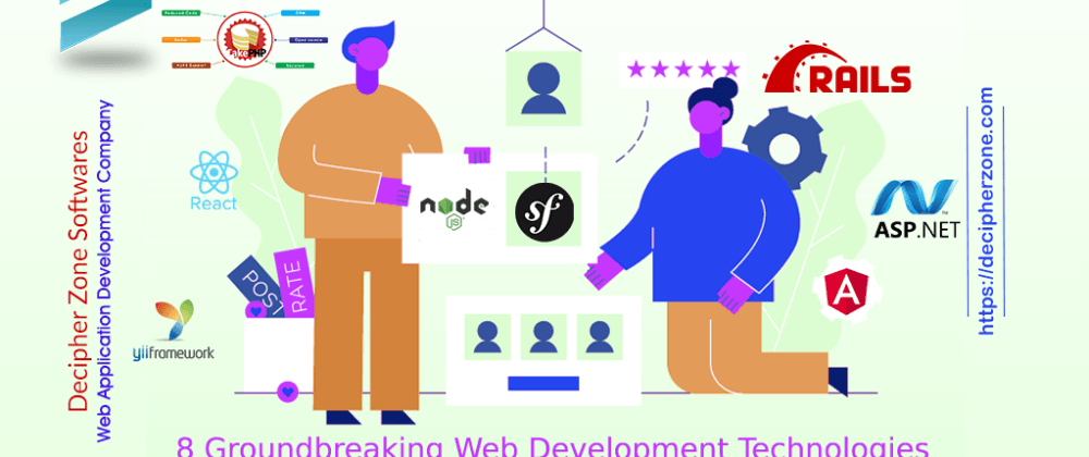 Cover image for Top 8 Web Development Technologies and Frameworks