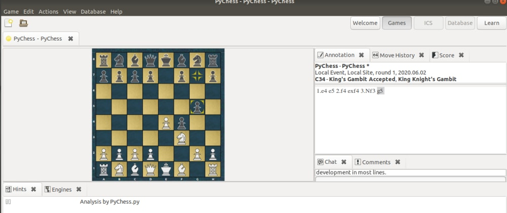 Cover image for [won] The 16hours battle to installed pychess
