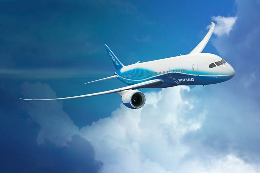 Boeing 787 Dreamliner aircraft uses Li-Ion batteries
