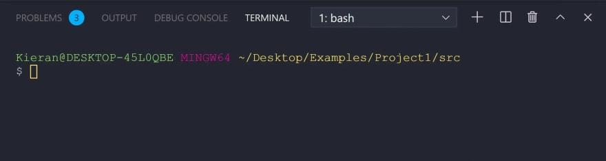 my terminal