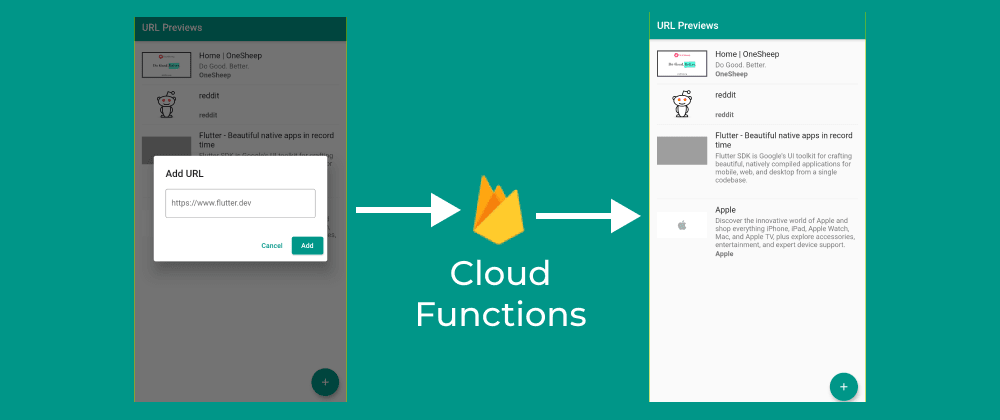 Cover image for Using Firebase Cloud Functions to Generate URL Preview