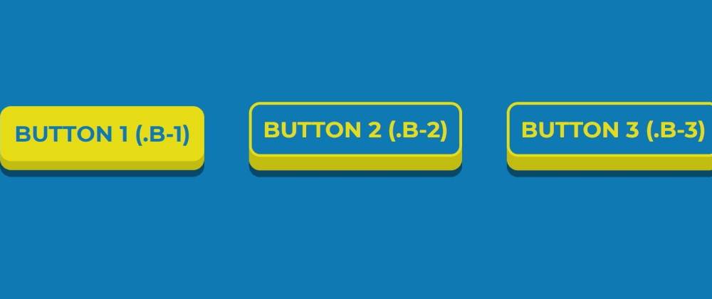 Cover image for Simple 3D CSS Buttons