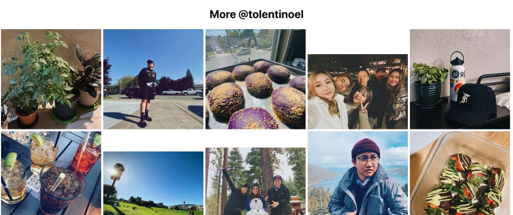 Cover image for Want your Instagram feed on your project?