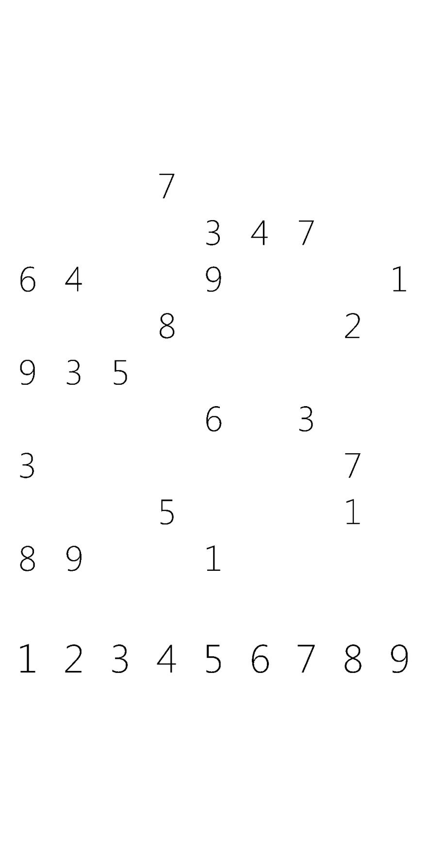 Processed Screenshot of Sudoku