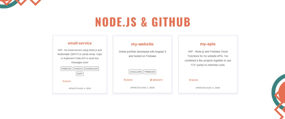 Cover image for Using Node.js to get useful GitHub data