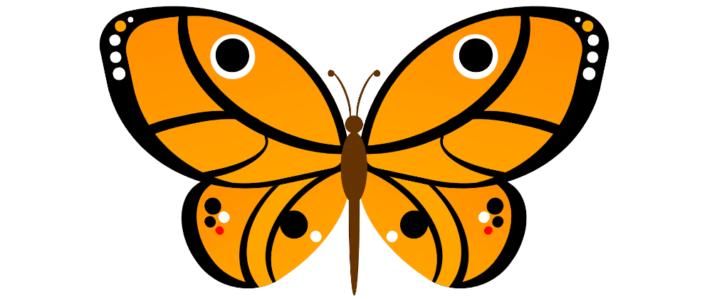 Cover image for Drawing a butterfly with HTML and CSS