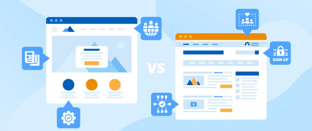 Cover image for Key differences between websites and web portals