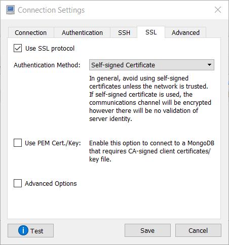 SSL Option