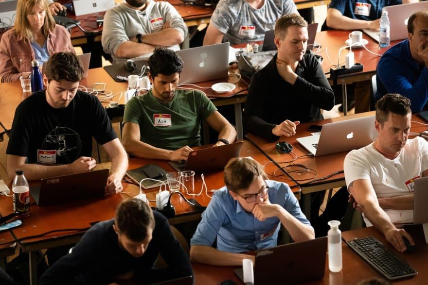 remote JavaScript workshops