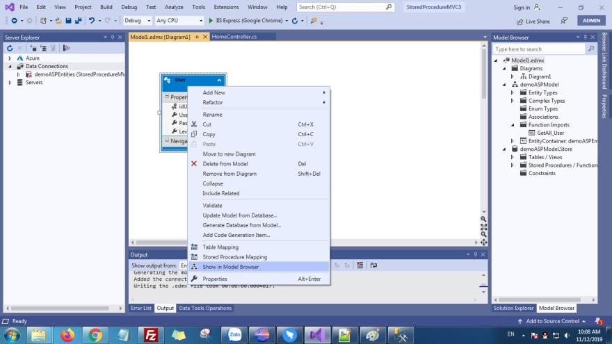 ASP.NET MVC 5 Stored Procedure - hoanguyenit.com