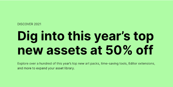 Dig into this year's top new assets at 50% off