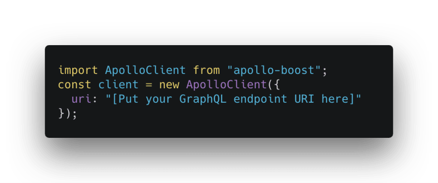 Create Apollo instance