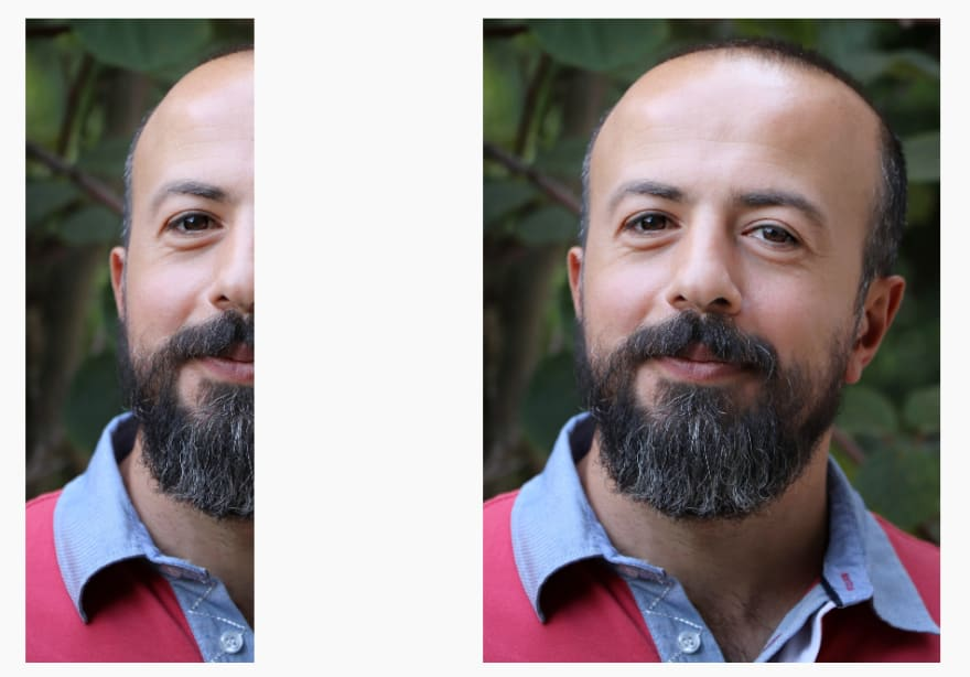 Pictures of a smiling man with beard