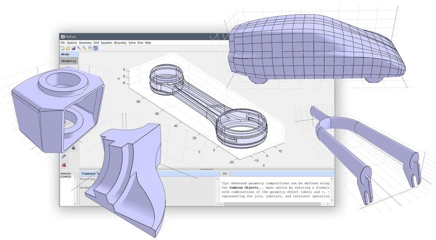 FEATool Multiphysics - MATLAB CAE & Physics Simulation Toolbox