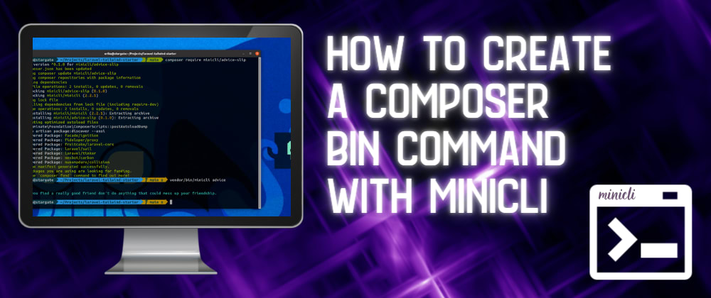 Cover image for How To Create a Composer Bin Command with Minicli