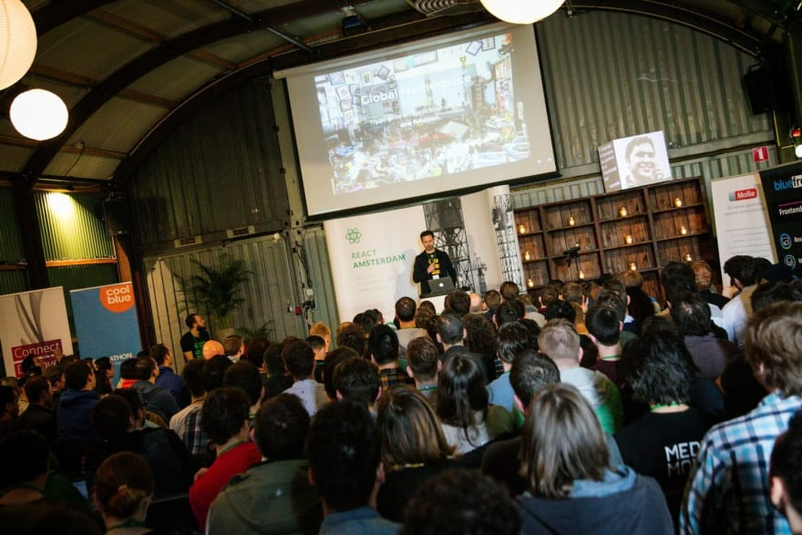 The 1st React Amsterdam conference in 2016
