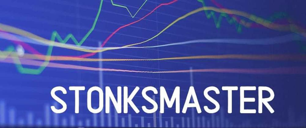 Cover image for Stonksmaster - Predict Stock prices using Python & ML 📈