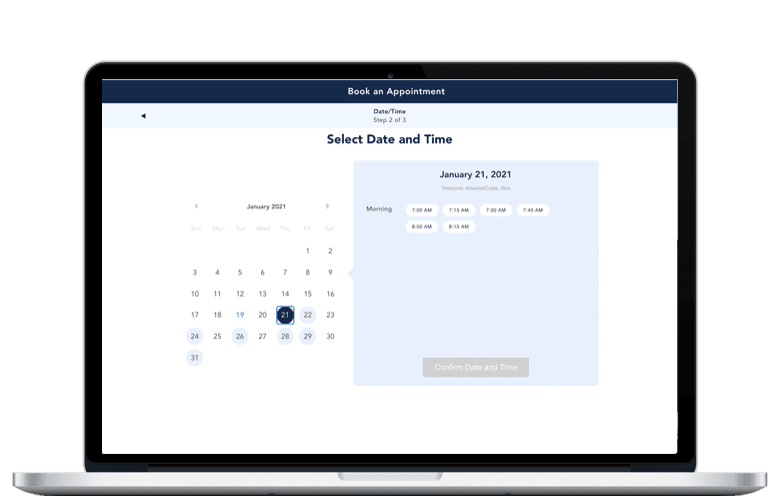 appointment scheduling demo