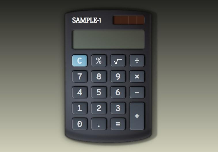 Finished calculator