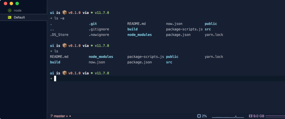 Cover image for styled terminal with iTerm