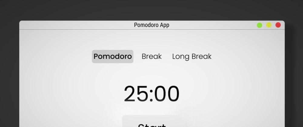 Cover image for Minimal Pomodoro Timer App