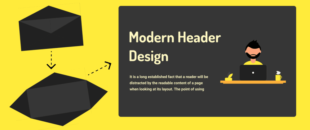 Cover image for Awesome header design you have never seen it before