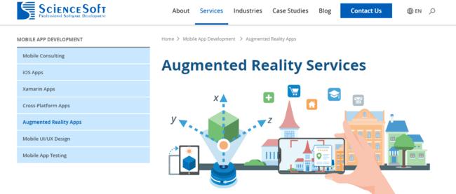 ScienceSoft - Leading Augmented Reality Company