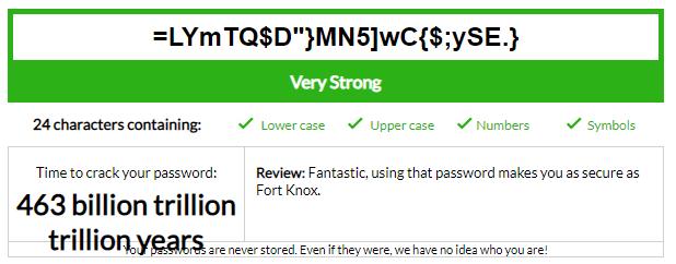 Password strength checker number 3