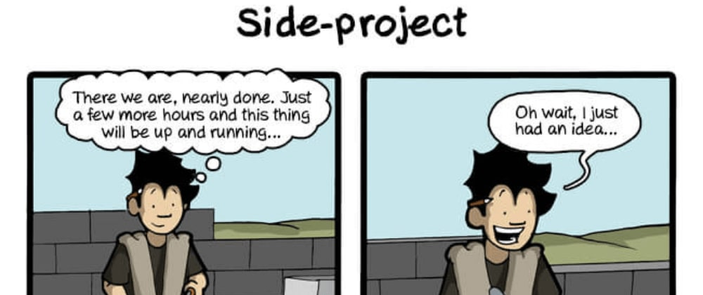 Cover image for Are you guilty of abandoning your side projects?