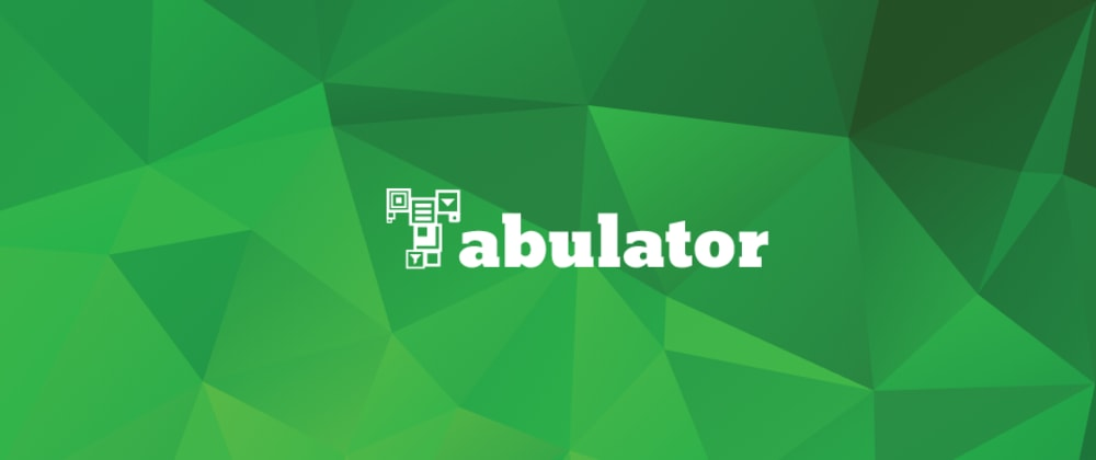 Cover image for Tabulator 4.0 - Interactive JavaScript Tables Made Easy